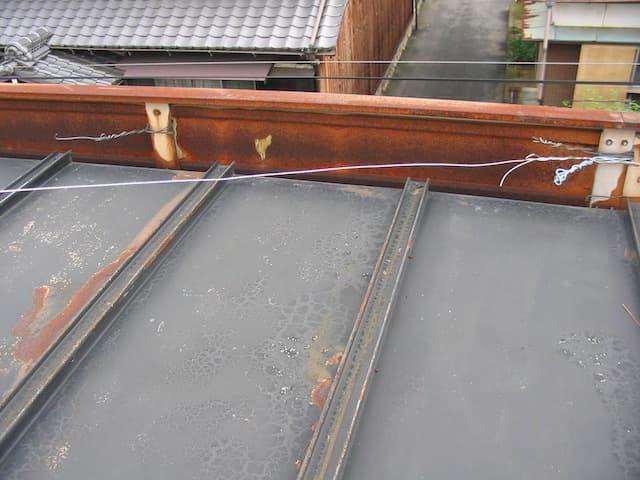 トタン屋根のサビ